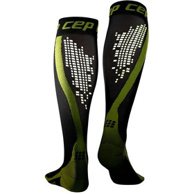 cep Nighttech Running Socks Men green/black